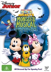 Mickey Mouse Clubhouse - Mickey's Monster Musical | DVD