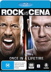 WWE - The Rock Vs. John Cena - Once In A Lifetime
