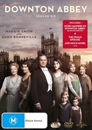 Downton Abbey - Season 6 (BONUS TEA TOWEL)