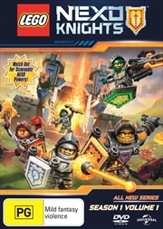 Lego Nexo Knights - Season 1 - Vol 1 | DVD