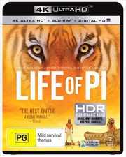Life Of Pi | Blu-ray + UHD