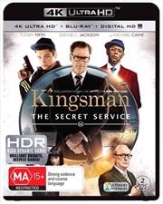 Kingsman - The Secret Service | Blu-ray + UHD + UV