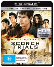 Maze Runner - The Scorch Trials | Blu-ray + UHD + UV