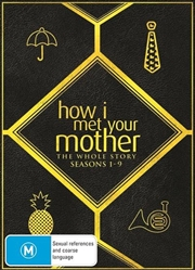 How I Met Your Mother Boxset Season 1-9