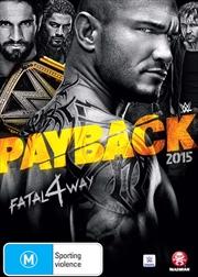 WWE - Payback 2015