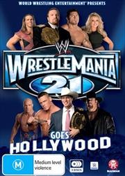 WWE - Wrestle Mania 21