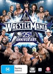 WWE - Wrestle Mania 25