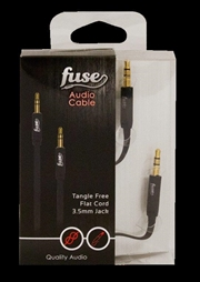 Fuse Audio Cable: Black