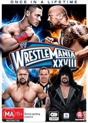 WWE - Wrestle Mania 28 | DVD