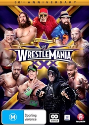 WWE - Wrestle Mania 30 | DVD
