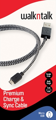 Charge Sync Cable Micro USB Black