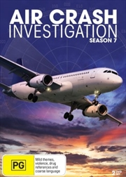 Air Crash Investigations; S7 | DVD