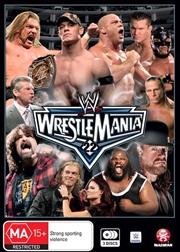 WWE - Wrestle Mania 22