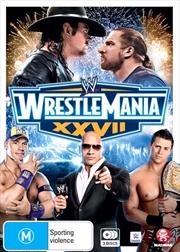 WWE - Wrestle Mania XXVII | DVD