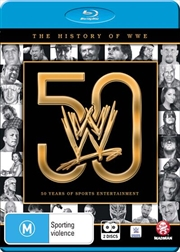 WWE - The History Of WWE - 50 Years of Sports Entertainment | Blu-ray