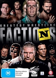 WWE - Wrestling's Greatest Factions