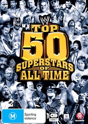 WWE - Top 50 Superstars Of All Time | DVD