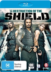 WWE - The Destruction Of The Shield | Blu-ray