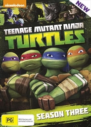 Teenage Mutant Ninja Turtles - Season 3 | Boxset | DVD