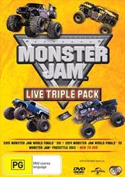 Monster Jam - Live | Triple Pack