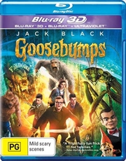 Goosebumps | 3D + Blu-ray + UV