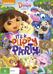 Dora The Explorer - It's A Puppy Party!