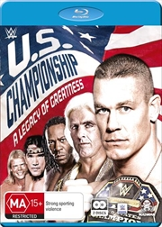 WWE - The US Championship - A Legacy Of Greatness | Blu-ray