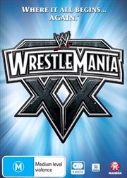 WWE - Wrestle Mania 20 | DVD