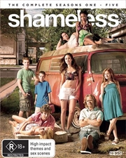 Shameless - Series 1-5 | Boxset