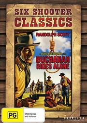 Buchanan Rides Alone Six Shooter Classics | DVD