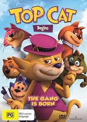 Top Cat Begins | DVD