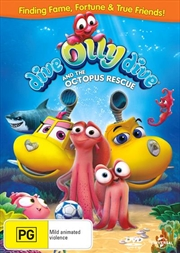 Dive Olly Dive And The Octopus Rescue | DVD