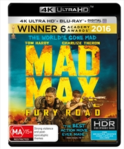Mad Max: Fury Road - UHD + Blu-ray + UV