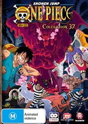 One Piece - Uncut - Collection 37 - Eps 446-456 | DVD