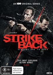 Strike Back - Season 1-4