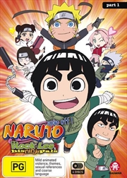 Naruto Spin-Off - Rock Lee And His Ninja Pals - Part 1 - Eps 1-26 | DVD