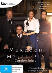 Murdoch Mysteries - Series 3 | DVD