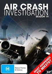 Air Crash Investigations - Season 14 | DVD