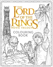 Lord Of The Rings Movie Colouring Book | Colouring Book