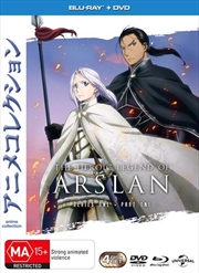 Heroic Legend Of Arslan - Season 1 - Part 1 | Blu-ray/DVD