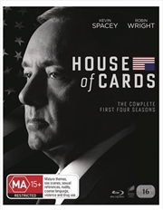 House Of Cards - Season 1-4   Boxset