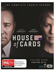 House Of Cards - Season 4 | Blu-ray