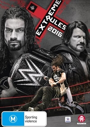 WWE - Extreme Rules 2016 | DVD