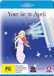 Your Lie In April - Part 2 - Eps 13-22 | Blu-ray