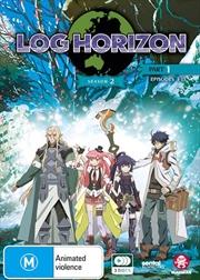 Log Horizon - Season 2 - Part 1 - Eps 1-13 | DVD