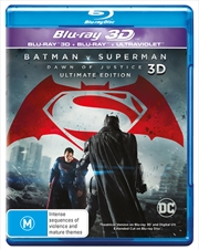 Batman V Superman - Dawn Of Justice | 3D + Blu-ray + UV