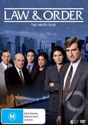 Law And Order - Season 9   DVD
