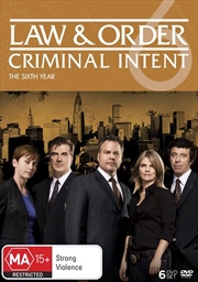Law And Order - Criminal Intent - Season 6 | DVD