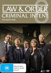 Law And Order - Criminal Intent - Season 8