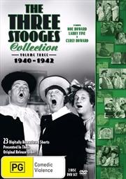 Three Stooges - 1940-1942 - Vol 3   DVD